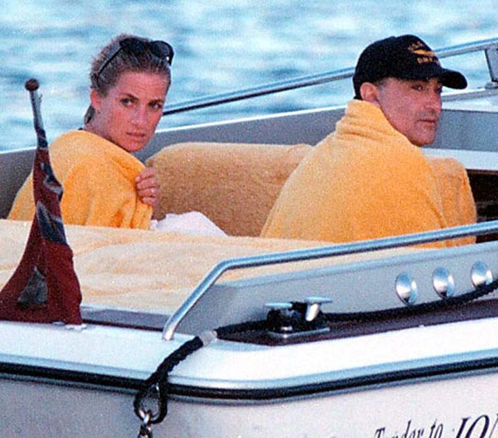 Prințesa Diana și Dodi al-Fayed