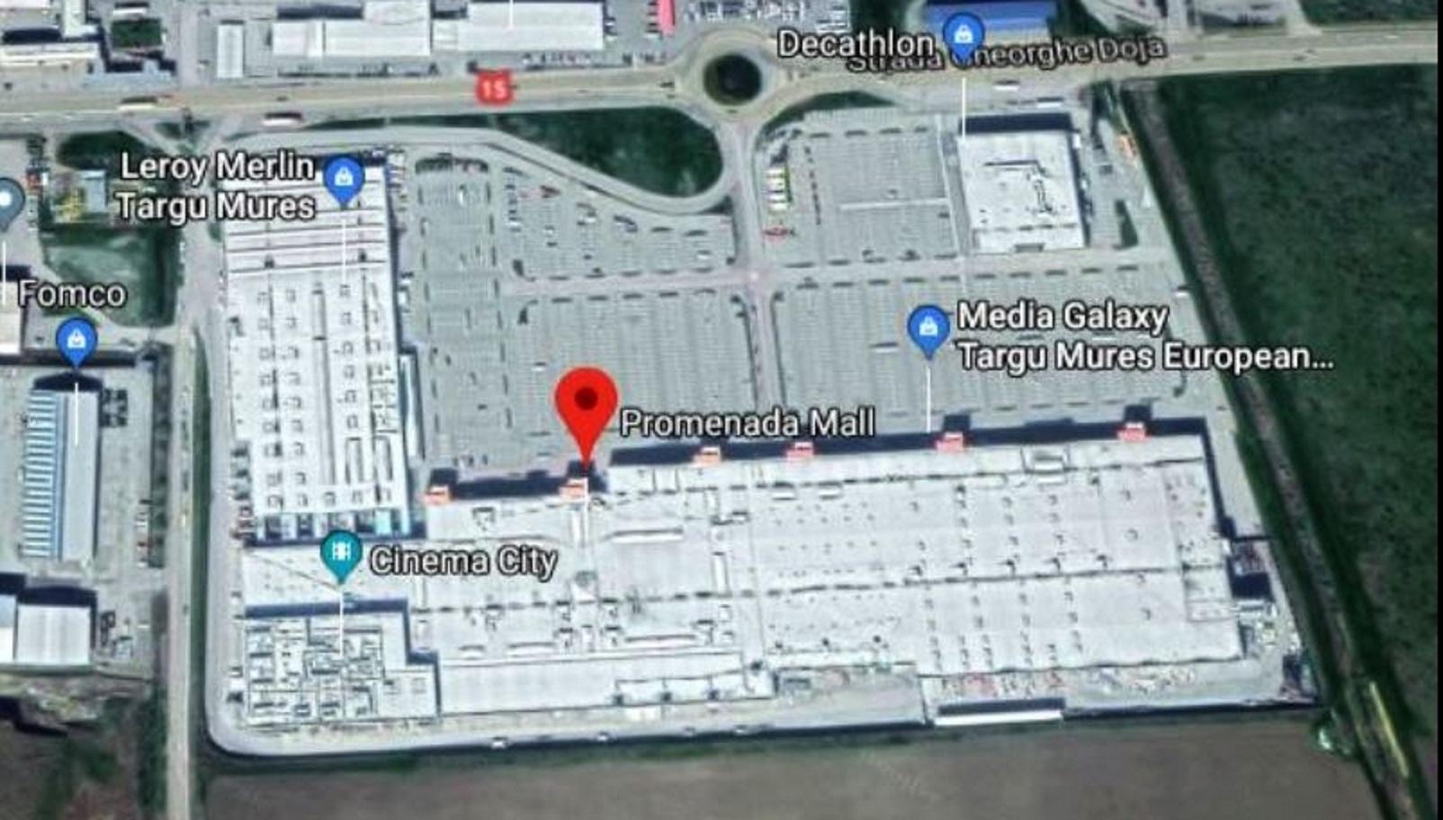 Indotek a achizitionat Mall Promenada Targu Mures pentru 43 de milioane de euro