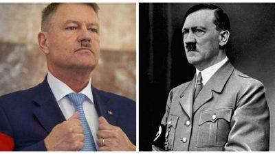 Klaus Iohannis, Hitler pe Facebook. Cine e în spatele pozei care a băgat frica în români