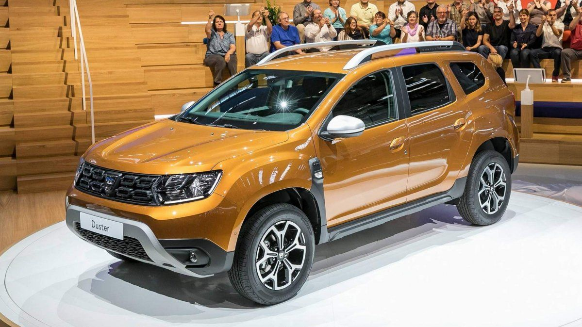 A treia generație de Dacia Duster
