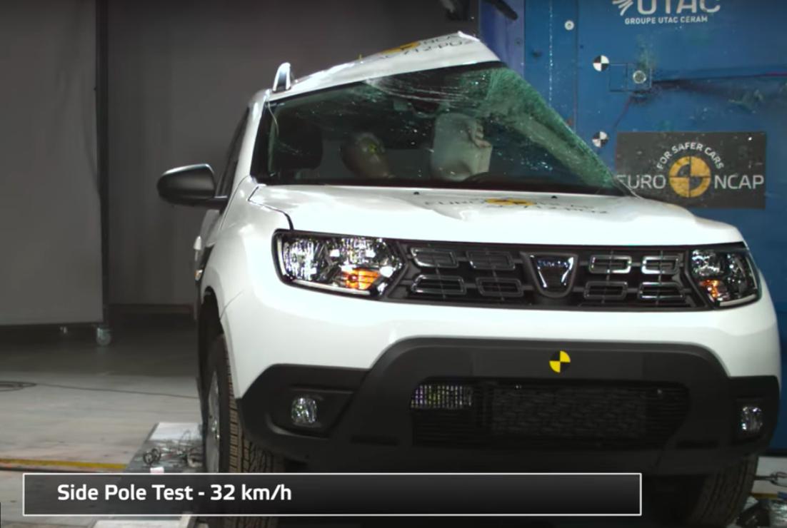Rezultate Dacia Duster la testele Euro NCAP