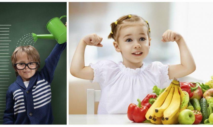 Alimentele care te cresc în înălțime. Ce conțin ele, de fapt, de sunt bune pentru copii