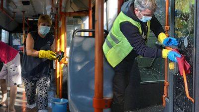 Ce s-a găsit în autobuzele din București, la igienizare. Nimeni nu credea că este posibil așa ceva