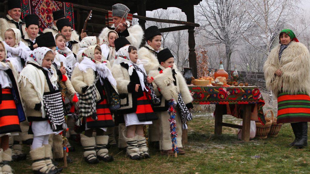 Tradiţii de Crăciun, în Maramureş