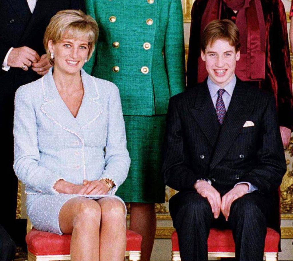 William learned of Prince Charles' infidelity from Diana B.