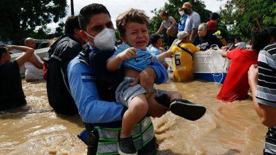 Vești devastatoare din America Centrală! Peste 1,2 milioane de copii au rămas fără familie după uraganul Eta