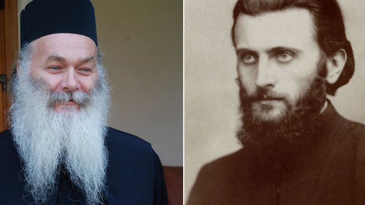 Parintele Ghelasie și părintele Arsenie Boca