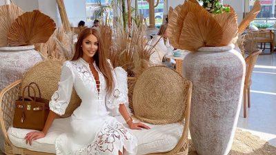 Cu cine s-a întâlnit Bianca Drăgușanu în Dubai. Vedeta pentru care a plecat special din țară