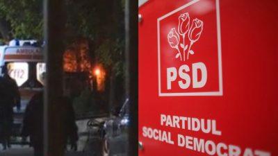 """Poliție, scandal și sânge la sediul PSD. Cine este angajata pe care colegii au găsit-o dezbrăcată și automutilată. Marcel Ciolacu: """"A avut o depresie"""""""
