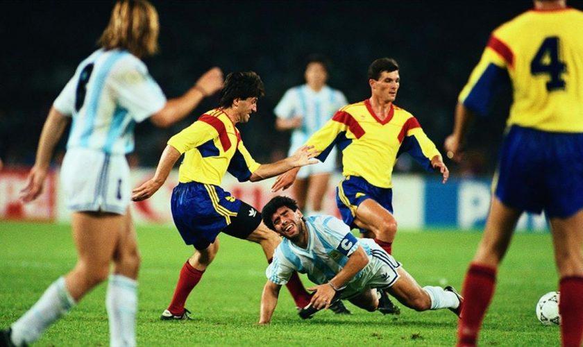 """Singurul român care l-a enervat pe Diego Maradona. Ce s-a întâmplat: """"L-a aruncat în iarbă"""""""