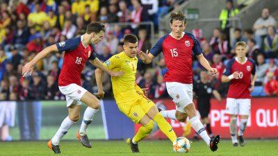 UEFA a stabilit rezultatul partidei România – Norvegia, care nu s-a mai putut disputa! Cum s-a schimbat clasamentul grupei