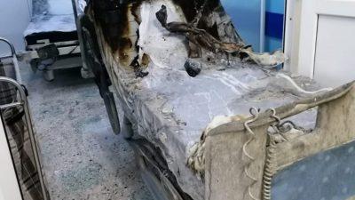 Imaginile groazei de la Piatra Neamț! Înfiorător ce a rămas în urma incendiului, în spital