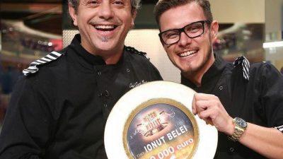 Câștigătorul de la Chefi la Cuțite, dialog în lacrimi cu chef Sorin Bontea. Ce i-a transmis și Scărlătescu, în mare secret