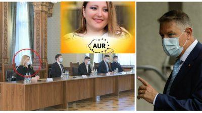 Ce a putut face Diana Șoșoacă la întâlnirea cu Klaus Iohannis! Gestul ei e curajos, toată lumea a fost uimită