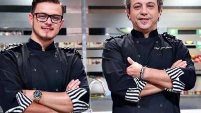 Ce nu s-a văzut la TV în finala Chefi la Cuțite 2020. Chef Sorin Bontea, limbaj vulgar cu Ionuț Belei: 'Da, i-am zis asta'