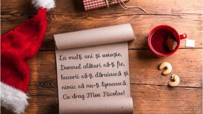 Mesaje de Sfântul Nicolae – 43 de urări frumoase pentru sărbătoriți