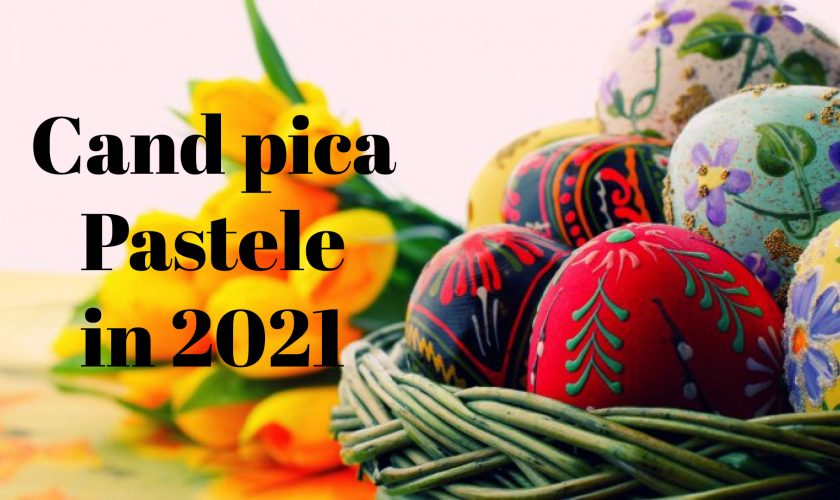 Paște 2021. Când pică Paștele ortodox, dar și cel catolic, anul viitor