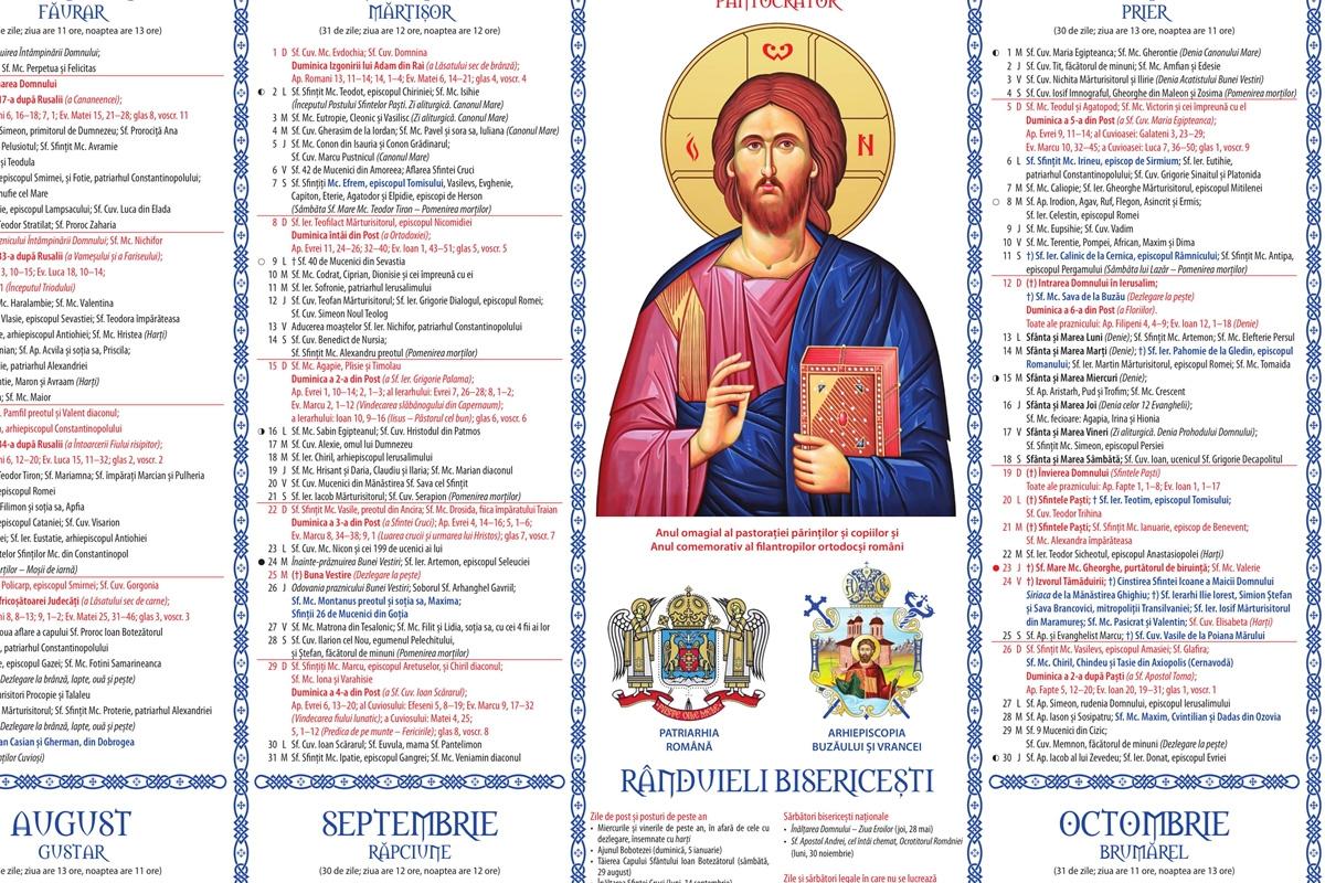 Calendar Ortodox Februarie 2021 : Calendar Creștin Ortodox ...