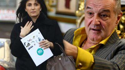 Ce a făcut soția lui Gigi Becali în București. Procedează total opus față de patronul lui FCSB