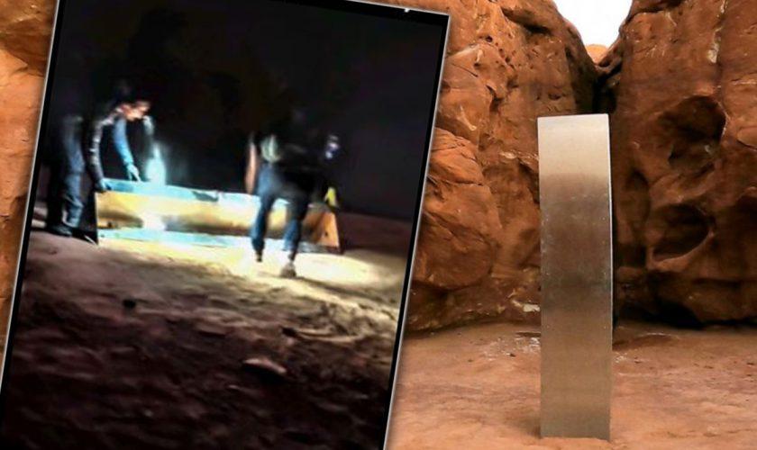 Ce s-a descoperit în monolitul din Utah, America. Cine l-a demontat, pe loc VIDEO