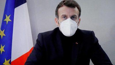 Emmanuel Macron, prima apariție publică după ce a anunțat că este infectat cu COVID-19. Cum se simte în acest moment