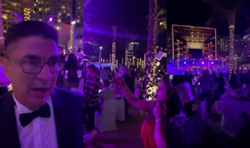 """Cum a petrecut Dubai de Revelion 2021. Luis Lazarus a fost acolo: """"Gata cu tâmpeniile și manipularea"""""""