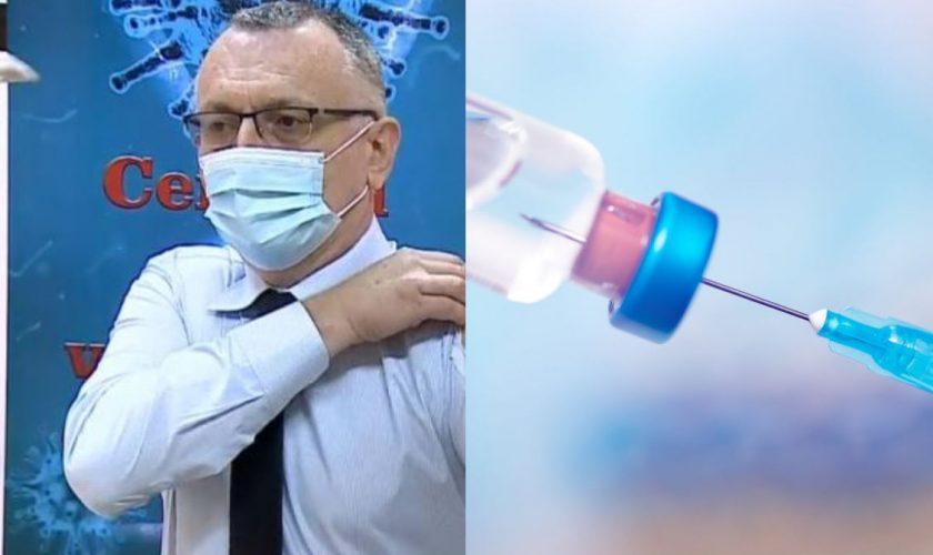 Cum a apărut Sorin Cîmpeanu la vaccinare. Toată România râde de Ministrul Educaţiei VIDEO