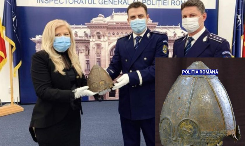 Adevărul despre coiful viking descoperit la Iași. Pentru ce scopuri magice era folosit