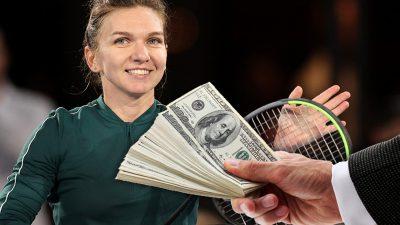 Câți bani a câștigat Simona Halep, de fapt, din tenis. Sumele sunt mult mai mici, s-a aflat adevărul
