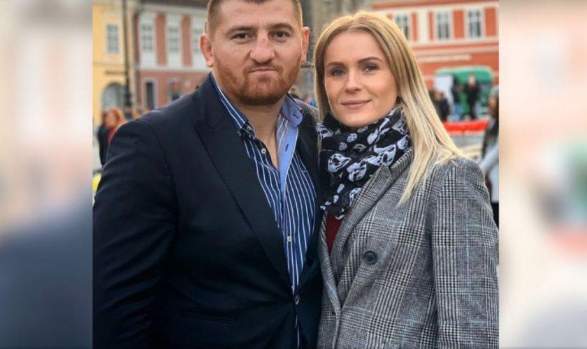 Cu ce se ocupă soția lui Cătălin Moroșanu. Blonda câștigă mai mulți bani decât vedeta de la Survivor
