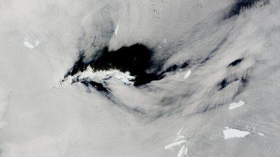 Imagini șocante în nordul Antarcticii. Ce a descoperit NASA cu ajutorul sateliților