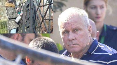 Dosarul Caracal. Cine s-a agățat de gardul tribunalului să țipe la Gheorghe Dincă