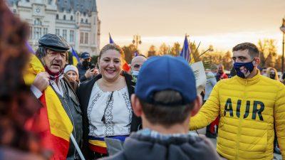 """Diana Șoșoacă rupe tăcerea despre comportamentul abuziv al liderului AUR: """"A folosit un limbaj de maidan și a ridicat palma la mine"""""""