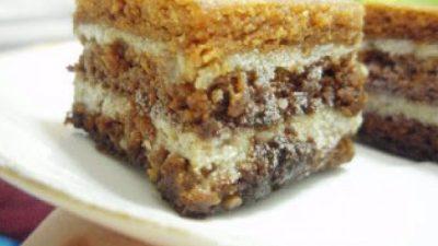 Cea mai bună prăjitură cu rom și nucă. Secretul rețetei simple, este foarte ușor de preparat