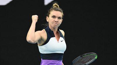 Simona Halep a băgat frica în adversari, la Australian Open. Ce spun străinii despre sportiva noastră