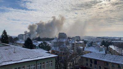 Ce s-a întâmplat, de fapt, cu incendiul din Suceava. Oamenii din clădire au avut mare noroc