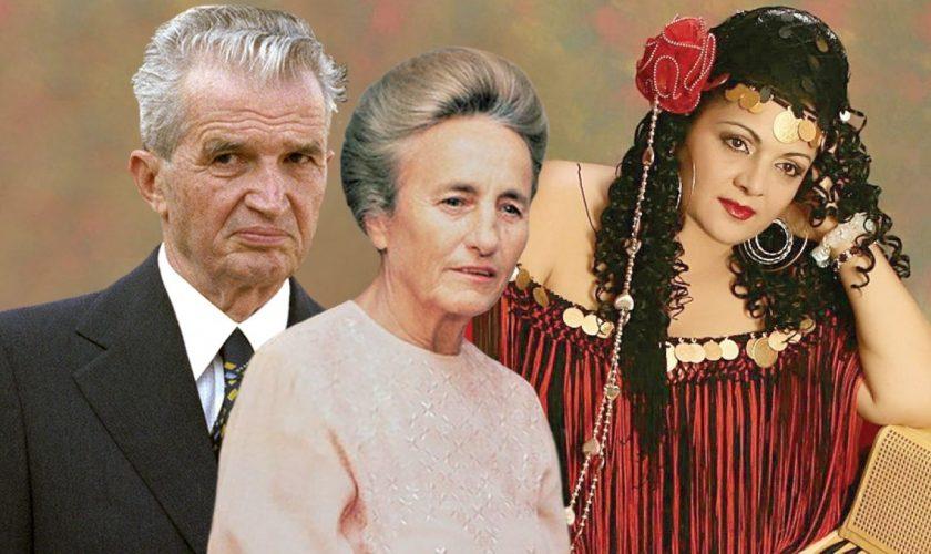 """Legătura Corneliei Catanga cu familia Ceaușescu. """"M-a luat cu cătușe la mâini, după un concert"""""""