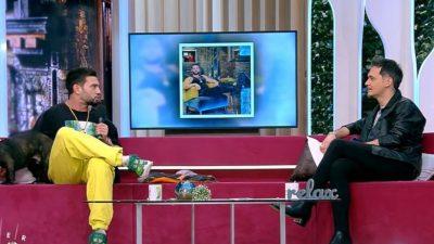 Dorian Popa a scăpat porumbelul în direct, la tv. Răzvan Simion a rămas cu gura căscată