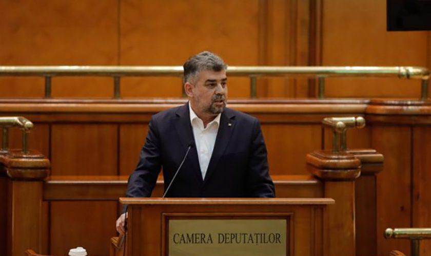 Marcel Ciolacu l-a jignit în ultimul hal pe Florin Cîțu. Ce i-a spus liderul PSD
