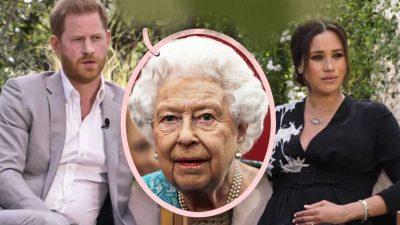 Prima reacție a Reginei Elisabeta după interviul lui Meghan Markle. Ce a făcut bunica lui Harry