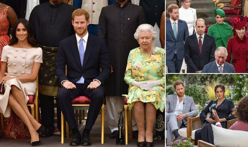 Reacția Reginei după interviul șoc dat de Meghan Markle și Prințul Harry. Ce a anunțat familia regală