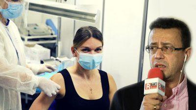 Victor Ciutacu, mesaj dur după vaccinarea Simonei Halep cu Pfizer. Ce a putut să spună