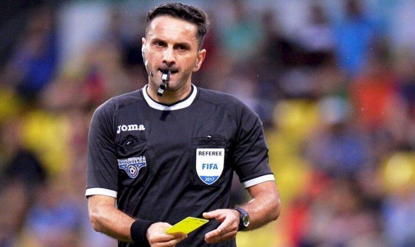 UEFA, decizie șocantă în cazul lui Sebastian Colțescu. Ce i-au făcut arbitrului român