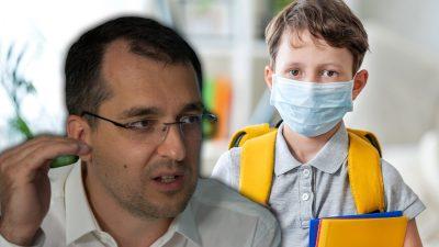 Ultima oră: unde nu mai trebuie să poarte elevii mască, de fapt. Vlad Voiculescu a făcut anunțul zilei