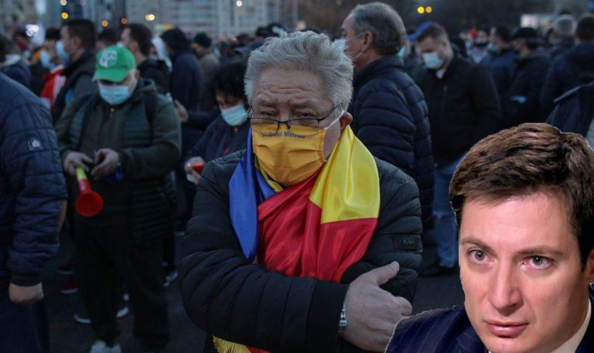 """Andrei Caramitru, dovadă de dispreț și ură față de miile de protestatari: """"Analfabeți funcționali. Majoritatea sunt săraci vai de capul lor"""""""