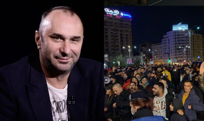"""Marius Tucă, susținere totală pentru protestele violente din toată țara: """"Un moment istoric. Ultimele luni au umplut paharul"""""""