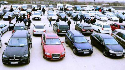 ANAF vinde mașini la prețuri infime. Ford sau Renault, foarte ieftine