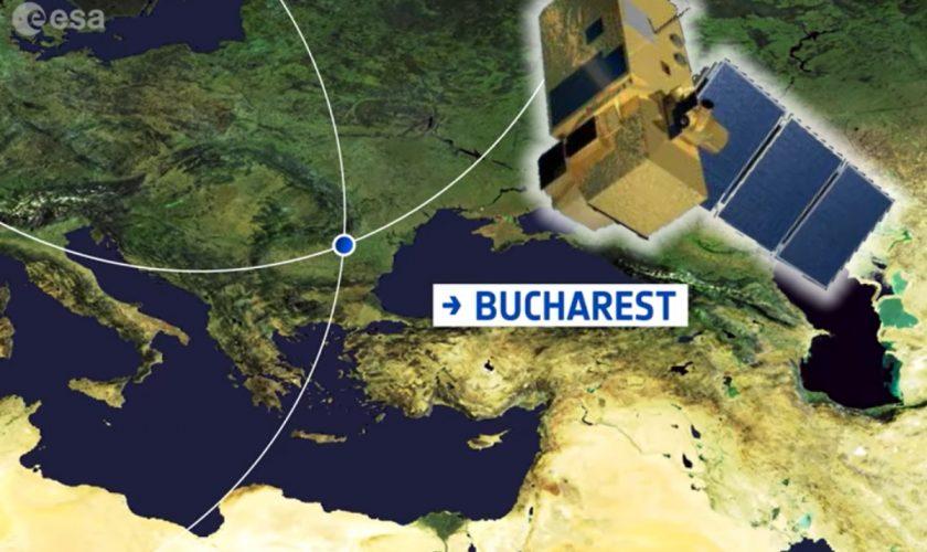 București, imagini din spațiu. Cum arată Capitala văzută din sateliți VIDEO