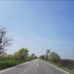 Care este cel mai lung drum drept din România. O plăcere să conduci aici