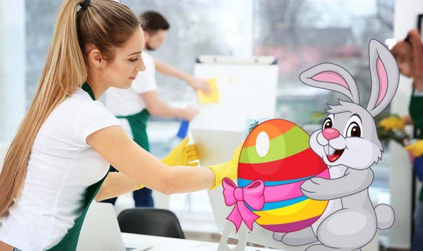 Cât te costă o firmă de curățenie pentru Paște. Asta e cea mai mică ofertă de pe piață